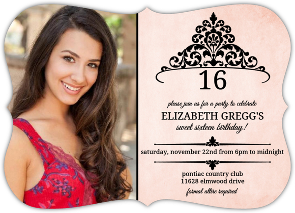 Sweet Sixteen Invitations Sweet 16 Birthday Party Invitations – Sweet 16 Birthday Invitations