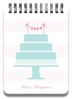 Wedding Cake Notepad