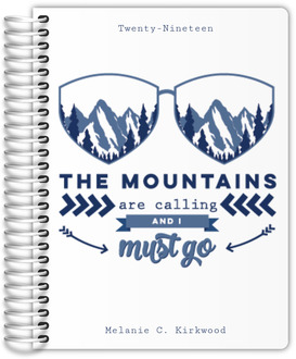Mountains Are Calling Custom Planner