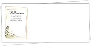 Quirky Modern Frame Envelope