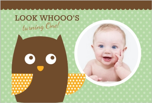 polka dot owl first birthday invite  first birthday invitations, Birthday invitations