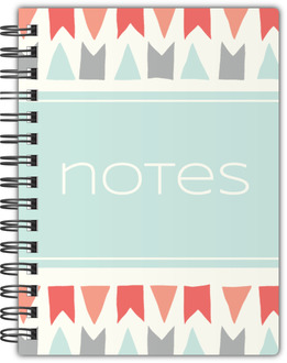 Colorful Pastel Notebook