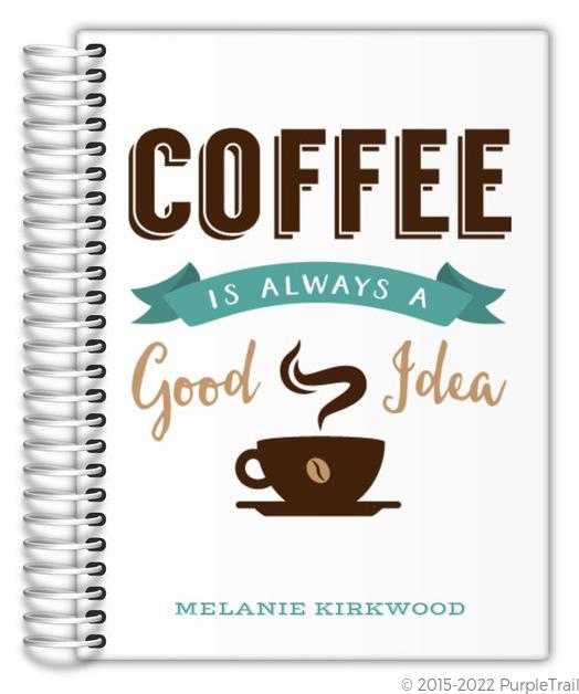 Coffee Lover Custom Journal