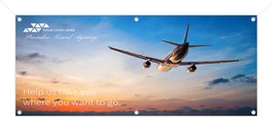 Full Photo Advertising Business Banner