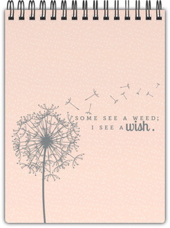 Graceful Wishes Notepad