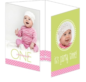 Picture Perfect 1St Birthday Party Invitations