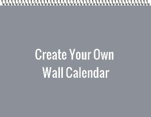 Create Your Own Wall Calendar
