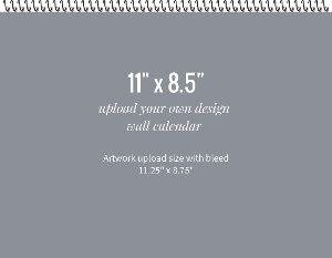 Upload Your Own Wall Calendar Design