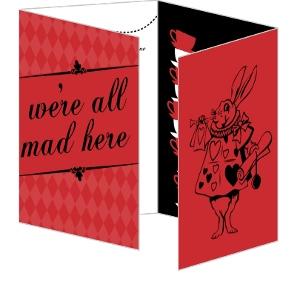 Wonderland 21St Birthday Invitation