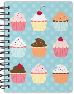 Colorful Cupcakes Notebook