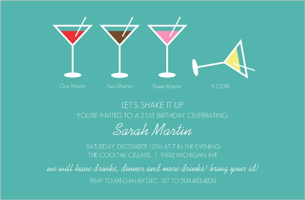 21st Birthday Invitations 21st Birthday Invites – 21st Invitation Cards