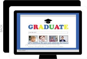Computer Tech Graduation Save The Date Announcement