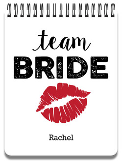 Team Bride Notepad