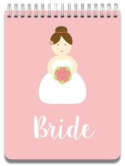 Bride To Be Notepad