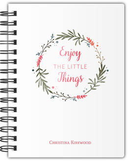 Little Things Wreath Notebook
