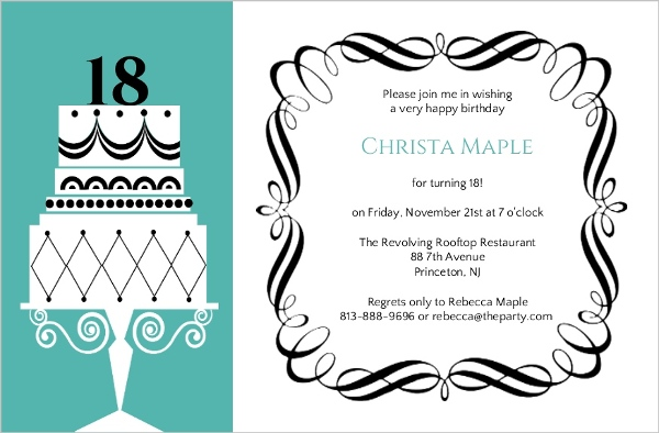 Thirtieth Birthday Invitations is Beautiful Layout To Create Elegant Invitations Design