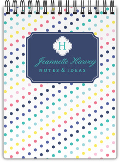 Simply Stunning Monogram Custom Notepad