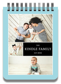 Family Photo Collage Notepad