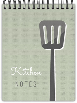 Vintage Kitchen Notepad