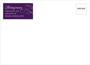 Royal Flourish Wedding Envelope