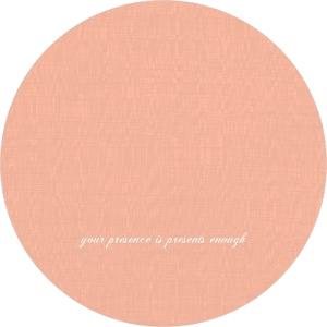 Peach white banner 50th birthday invitation 2813 2 big circle