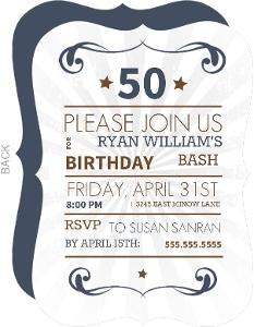 Western Birthday Bash For 50Th Birthday