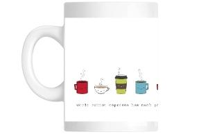 Words Canno Espresso Cute Coffee Coffee Mug
