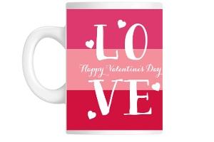 Love Valentine's Day Coffee Mug