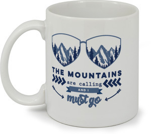 The Mountains Are Calling Coffee Coffee Mug