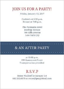 Winter Sweater Birthday Party Invite
