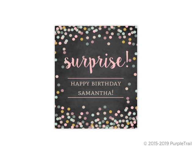 Dusty Rose 60Th Birthday Surprise Party Invitation | 60th Birthday ...