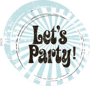 Let S Party Birthday Invite
