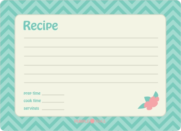 Retro kitchen recipe fill in the blank bridal shower for Bridal shower fill in invitations