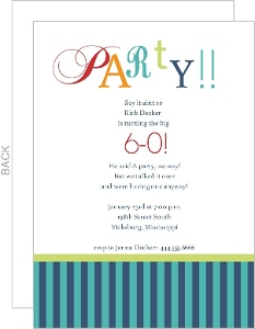 th birthday invitations  page, Birthday invitations