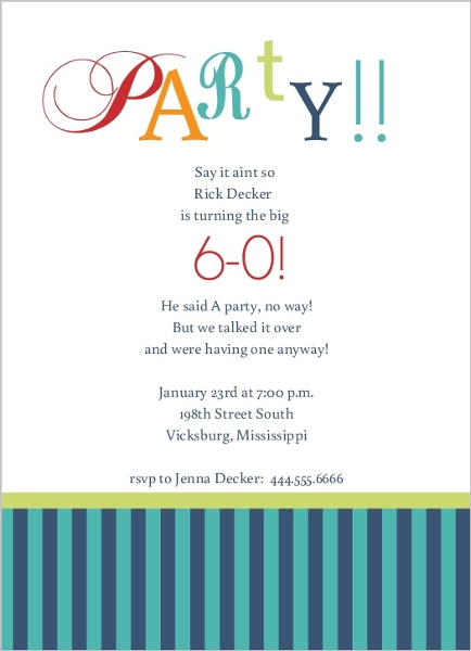 Cheers To 60Th Birthday Party Invitation – Birthday Invitation 60th Party
