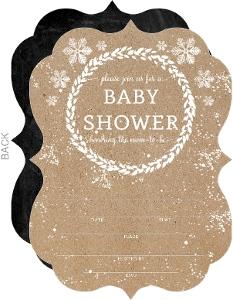 Blank Baby Shower Invitations Diy