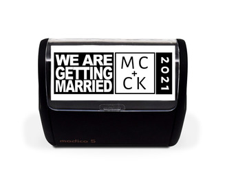 We Are Getting Married Save The Date Stamp