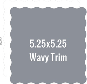Create Your Own 5.25x5.25 Wavy Die Card