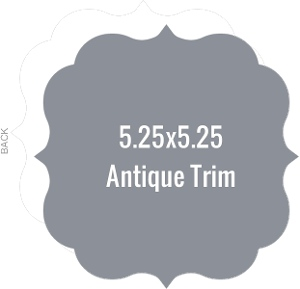 Create Your Own 5.25x5.25 Antique Die Card
