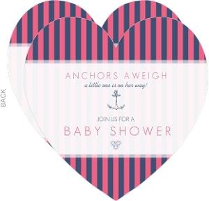 Pink navy nautical girls baby shower invitation 3108 0 big heart