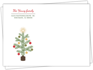 Krafty Pine Tree Full Custom Envelope