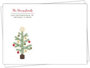 Krafty Pine Tree Full Envelope