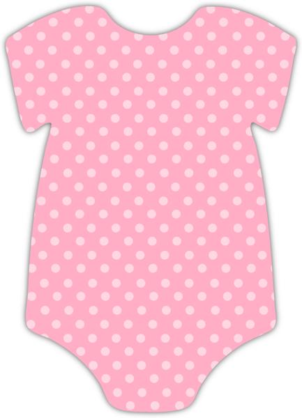 pink onesie girl baby shower invitation