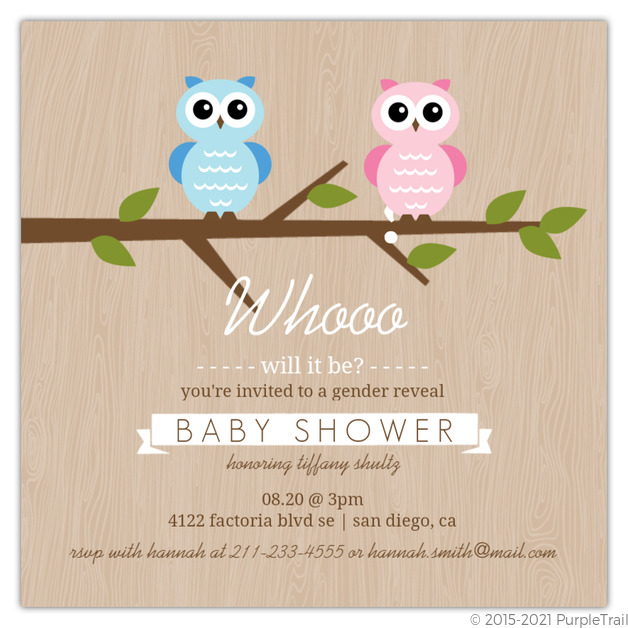 Gender Neutral Baby Shower Invitations & Gender Reveal Baby Shower ...