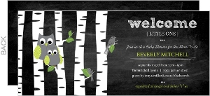 Chalkboard birds owls baby shower invitation 3192 0 big