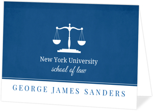 graduate school graduation invitations - Law School Graduation Invitations