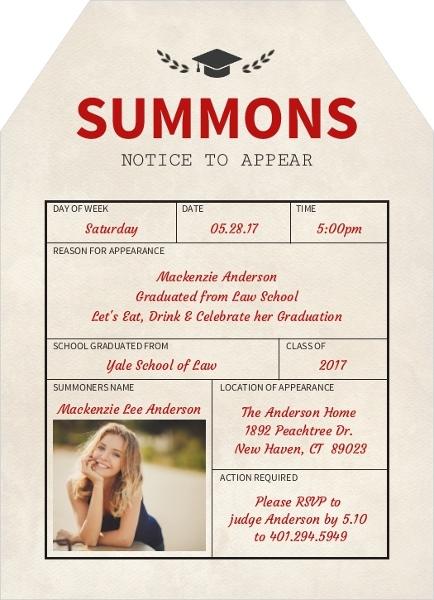 Law School Graduation Invitations Law School Graduation – Graduation Postcard Invitations