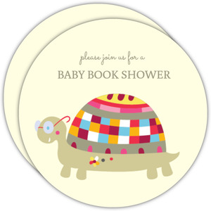 Little Turtle Gender Neutral Baby Shower Invite