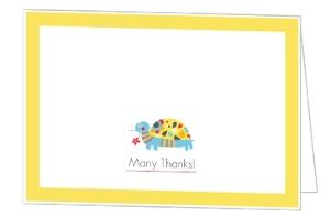 Yellow Boy Turtle Thank You