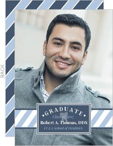 Modern Frame Dental School Graduation Announcement